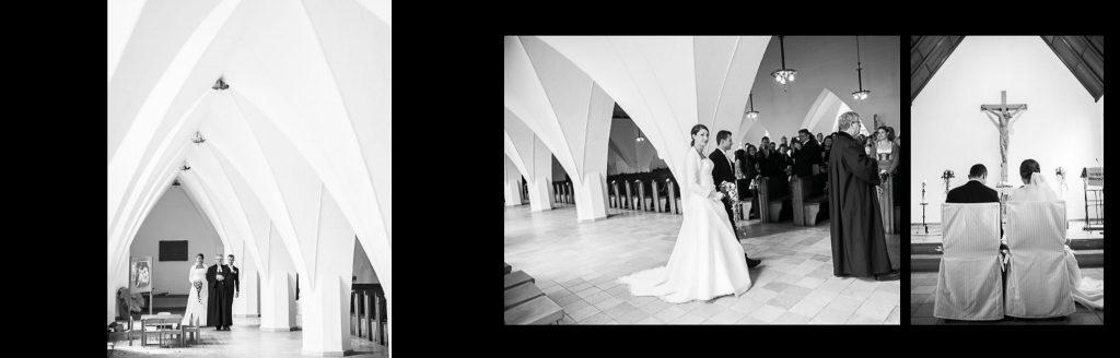 Hochzeitsfotograf Stuttgart Esslingen Brautpaar in der Kirche
