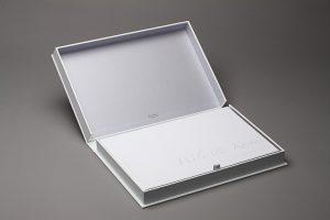 Hochzeitsbuch und Hochzeitskassette